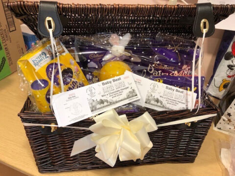 Easter raffle in aid of Baby Beat