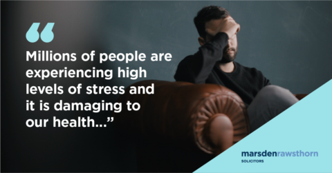 Stress Awareness Month - High stress levels causing damage to our health